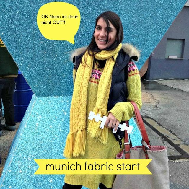 Frühstück bei Emma Munich Fabric Start 2013