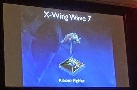 X-Wing Wave 7 Kihraxz