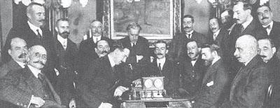 Encuentro de ajedrez Manuel Golmayo contra Manuel Zaragoza Ruiz, Madrid 1912