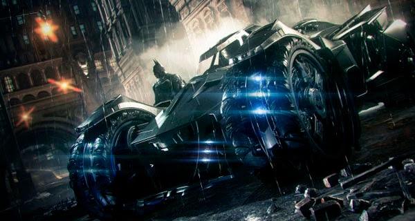 "Batmóvil en de ""Batman: Arkham Knight"""