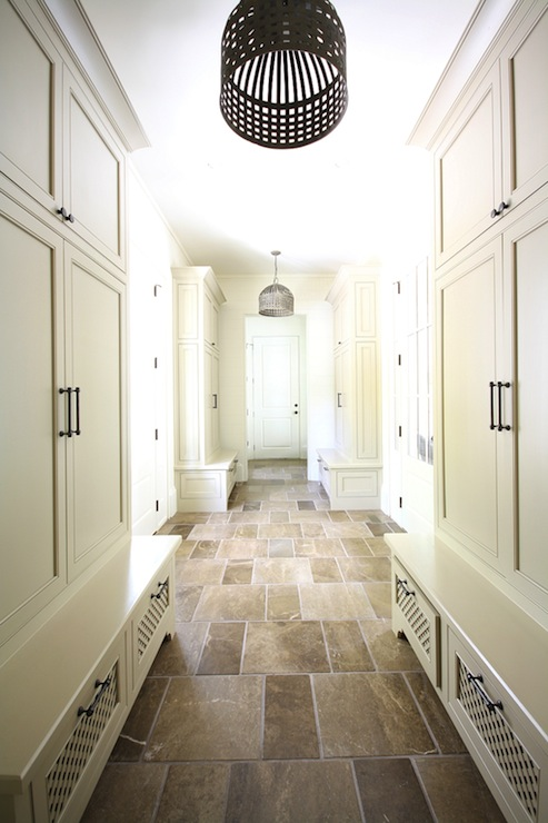 The tile shop design by kirsty mud room for Mudroom floor ideas