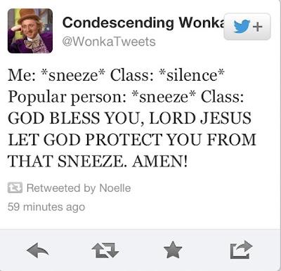 sneez tweet - twitter