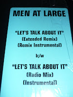 Men At Large - Let's Talk About It (VLS 1994)