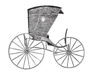 Vintage carriage freebie.