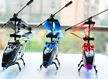 Helizone RC Firebird mini rc helicopter picture