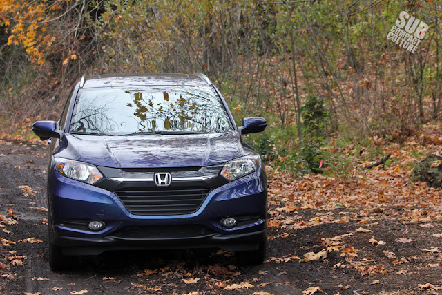2016 Honda HR-V in the dirt