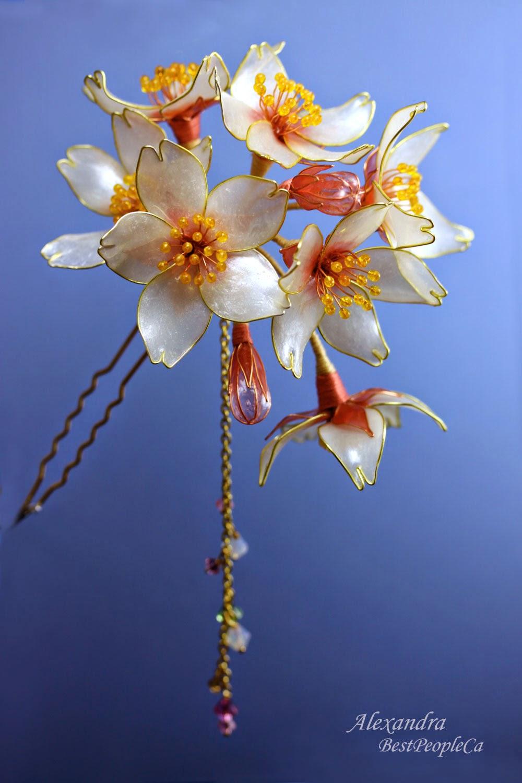 Cherry Blossom Kanzashi