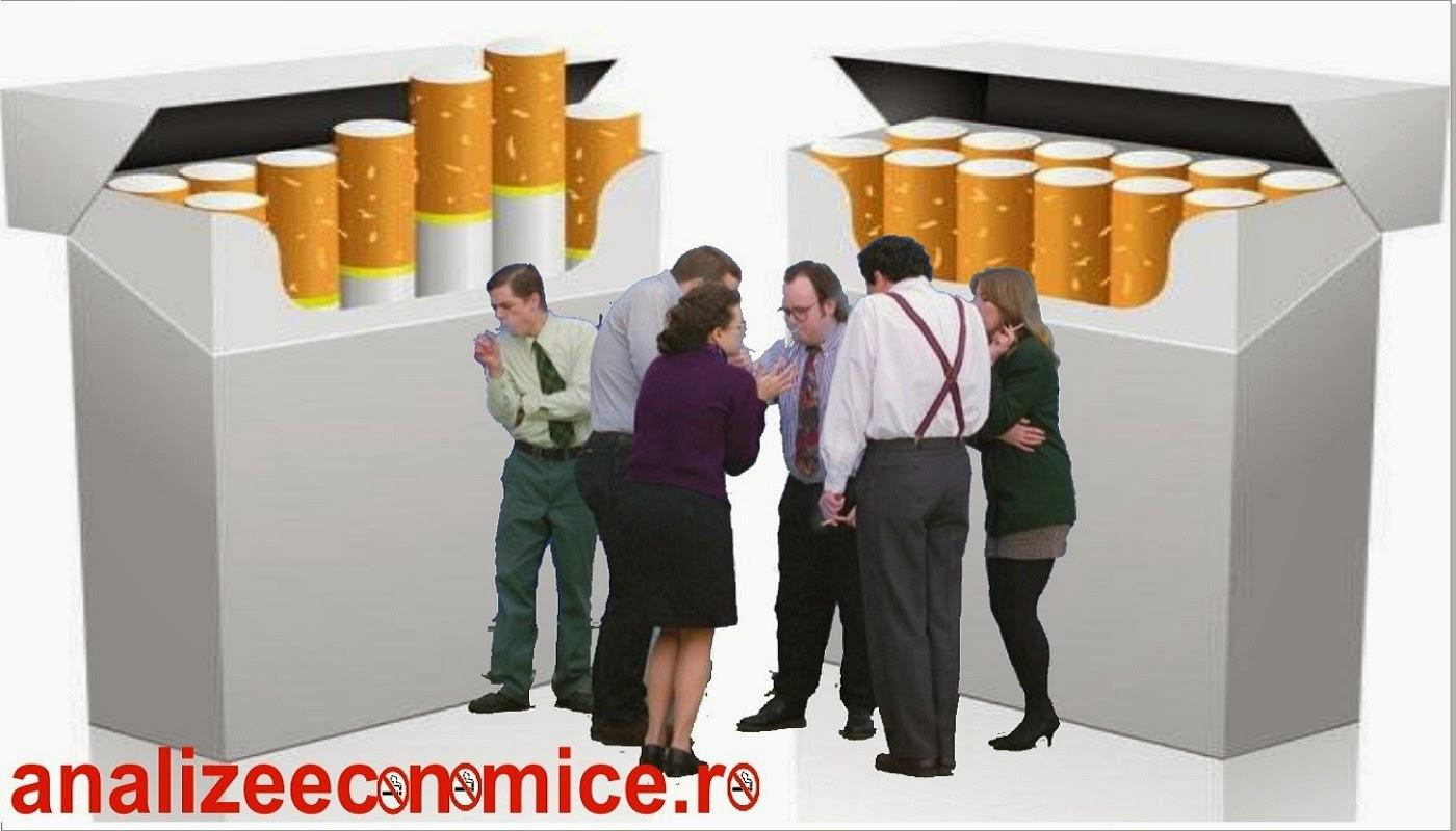 Productivitatea fumătorilor români