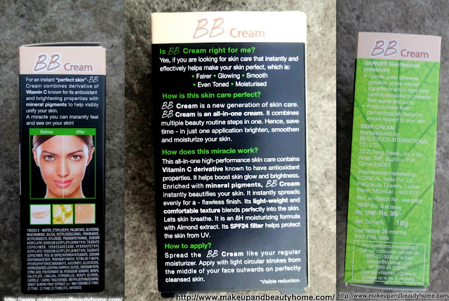 Garnier BB Cream Miracle Skin Perfector Review