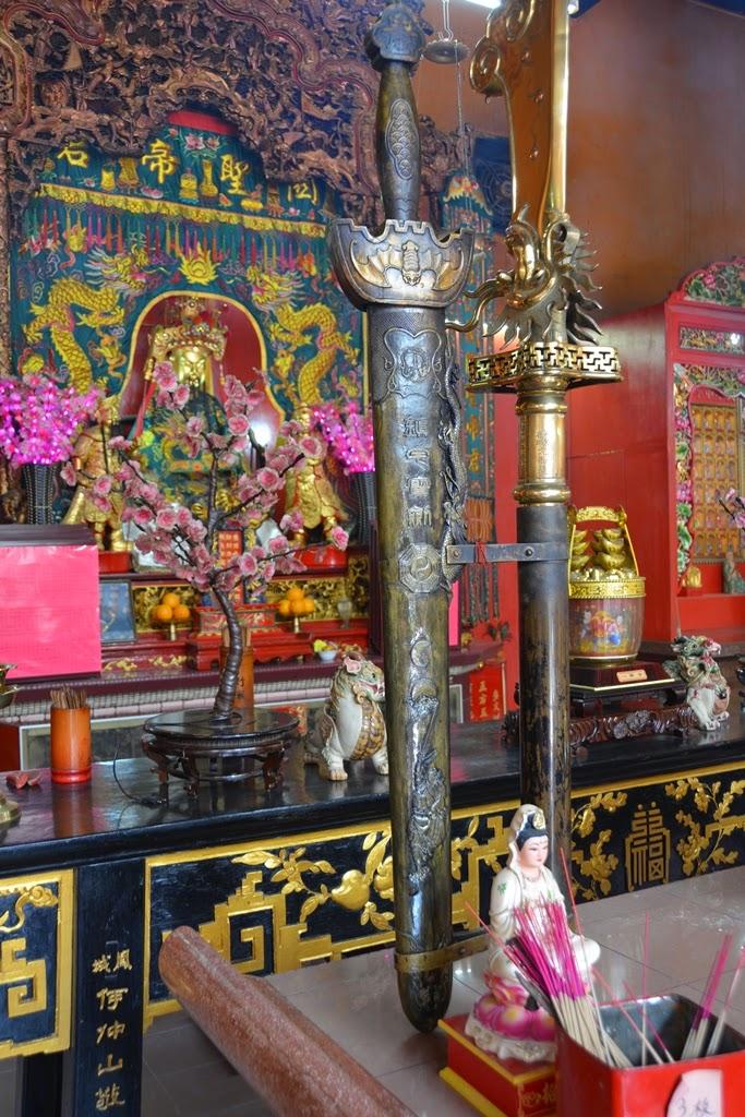Guan Di Temple Kuala Lumpur sword