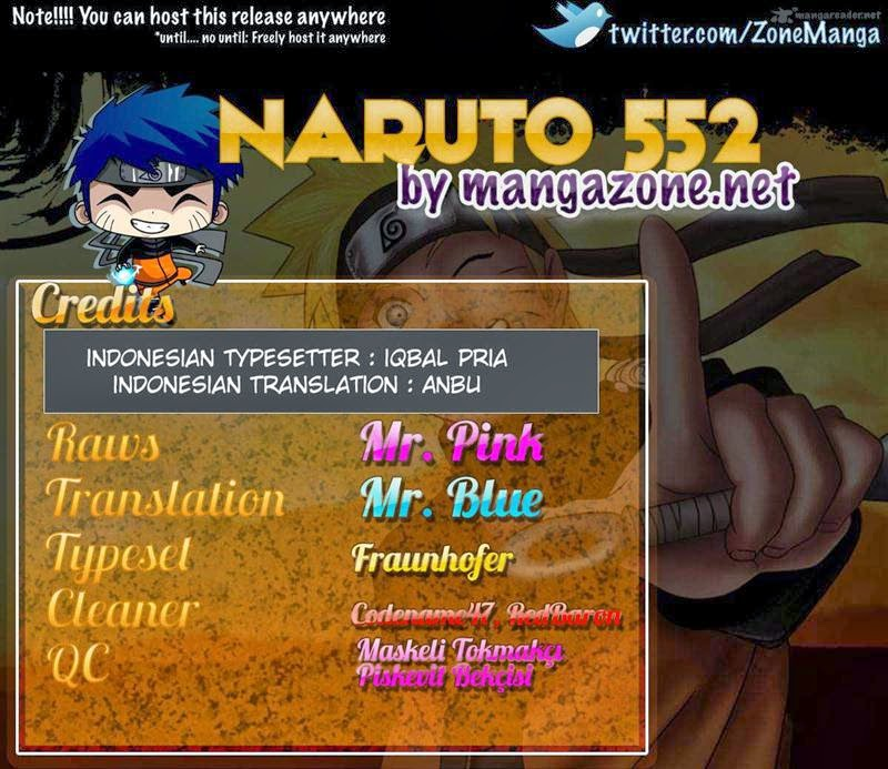 Naruto - Chapter:552 - Page:01