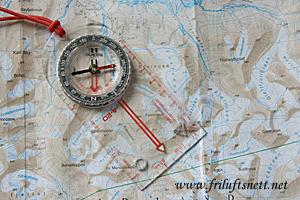 lære kart og kompass