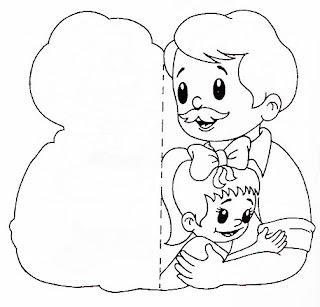 caixa dia dos pais atividade dia dos pais