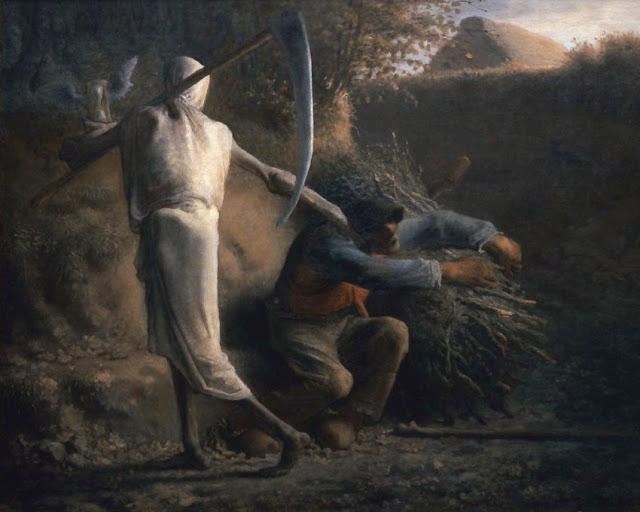 Jean-François Millet - Døden og Brændehuggeren