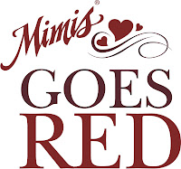 Mimi's Cafe goes red