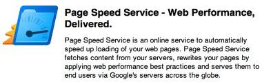 How to Use Google Page Speed Service?