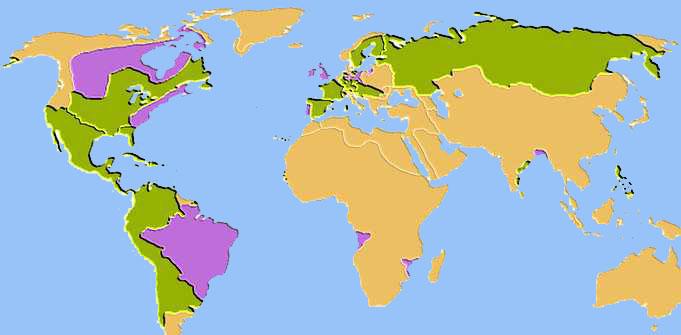 Treaty Of Paris Treaty Of Paris - Treaty of paris map