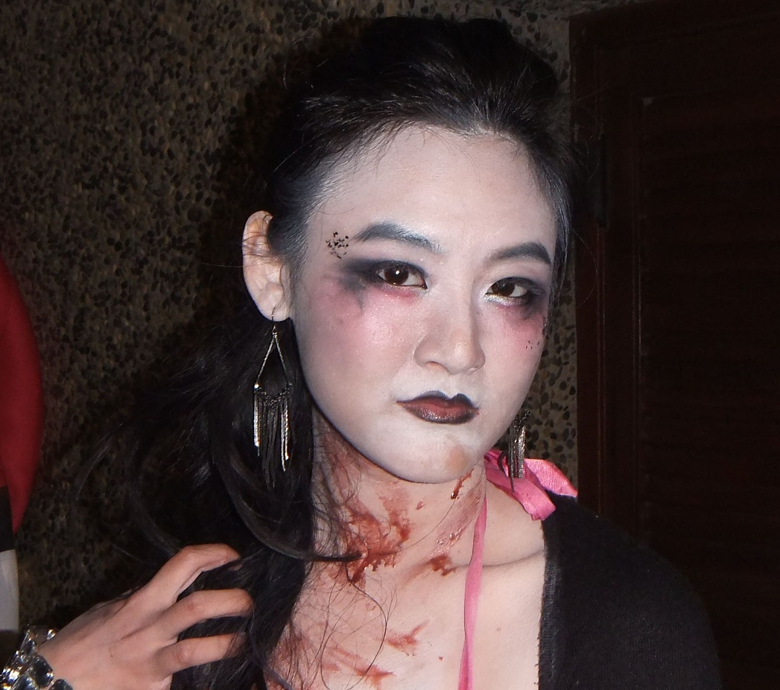Super scary face girl pictures