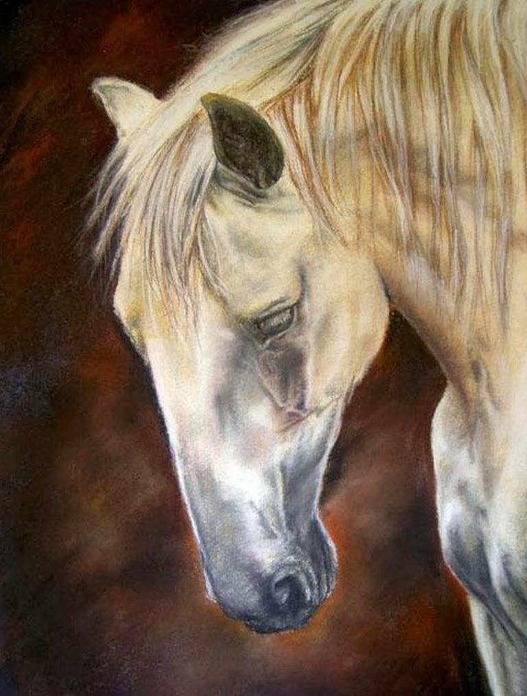 caballos-dibujos-oleos