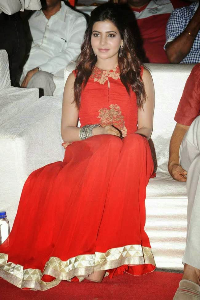 Samantha At Lovers Movie Audio Launch