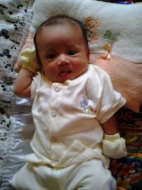 Dhia Batrisyia - 1 month