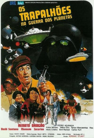 Chá de VHS - Os Trapalhões na Guerra dos Planetas