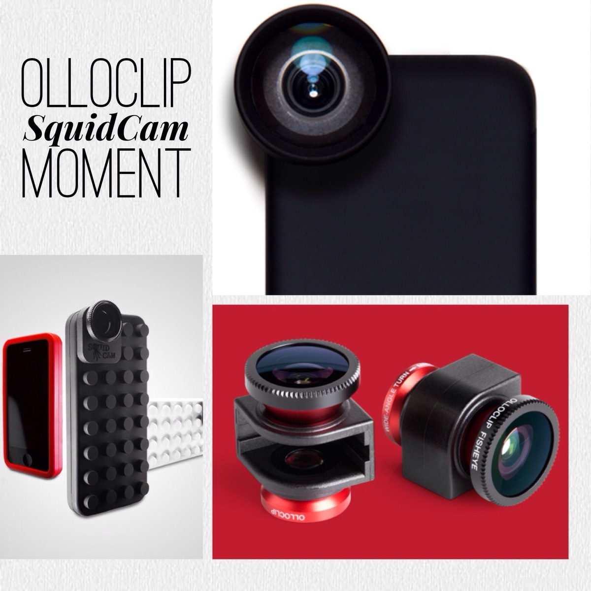 Olloclip vs SquidCam vs Moment Lenses