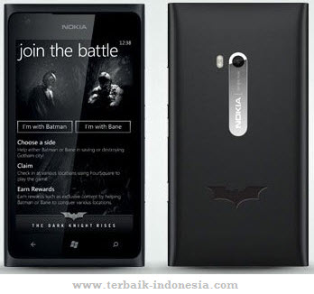 Nokia Lumia 900 Dark Knight Rises