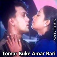 Tomar Buke Amar Bari - Shakil Khan & Shabnur