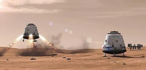 Un cohete privado po