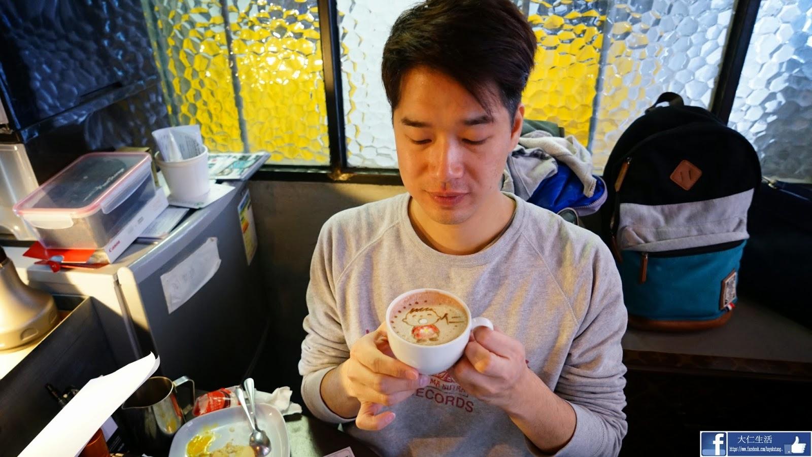 銅鑼灣 希雲街 Cafe R&C 拉花 叮噹 大口仔 布甸狗