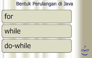 OpO ~ Pengulangan Pada Pemrograman Java