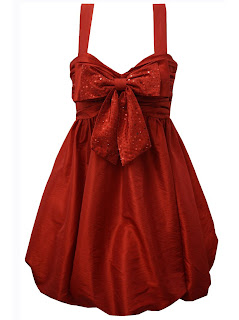 Sequin Dress on Red Ribbon Mini Dress Code Md 001230 Size S M L Colour Red Black And
