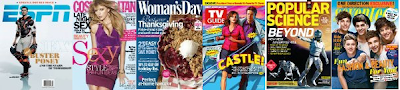 $5 Magazine Sale: ESPN, Cosmo, TV Guide, Elle and MORE