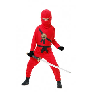 Ninja Avengers Boys Costume