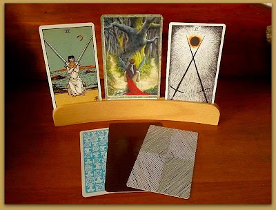 3x3x3 Divination tag Tarot, Original Rider Waite, Druidcraft Tarot, Wild Unknown Tarot