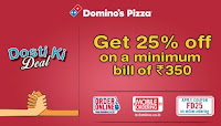 Happy Friendship day people! Enjoy get 25% off on a minimum bill of Rs. 350. :buytoearn
