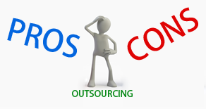 pros and cons of outsourcing The pros and cons of outsourcing outsourcing is a hot-button issue in us  politics politicians and economists want american businesses to.