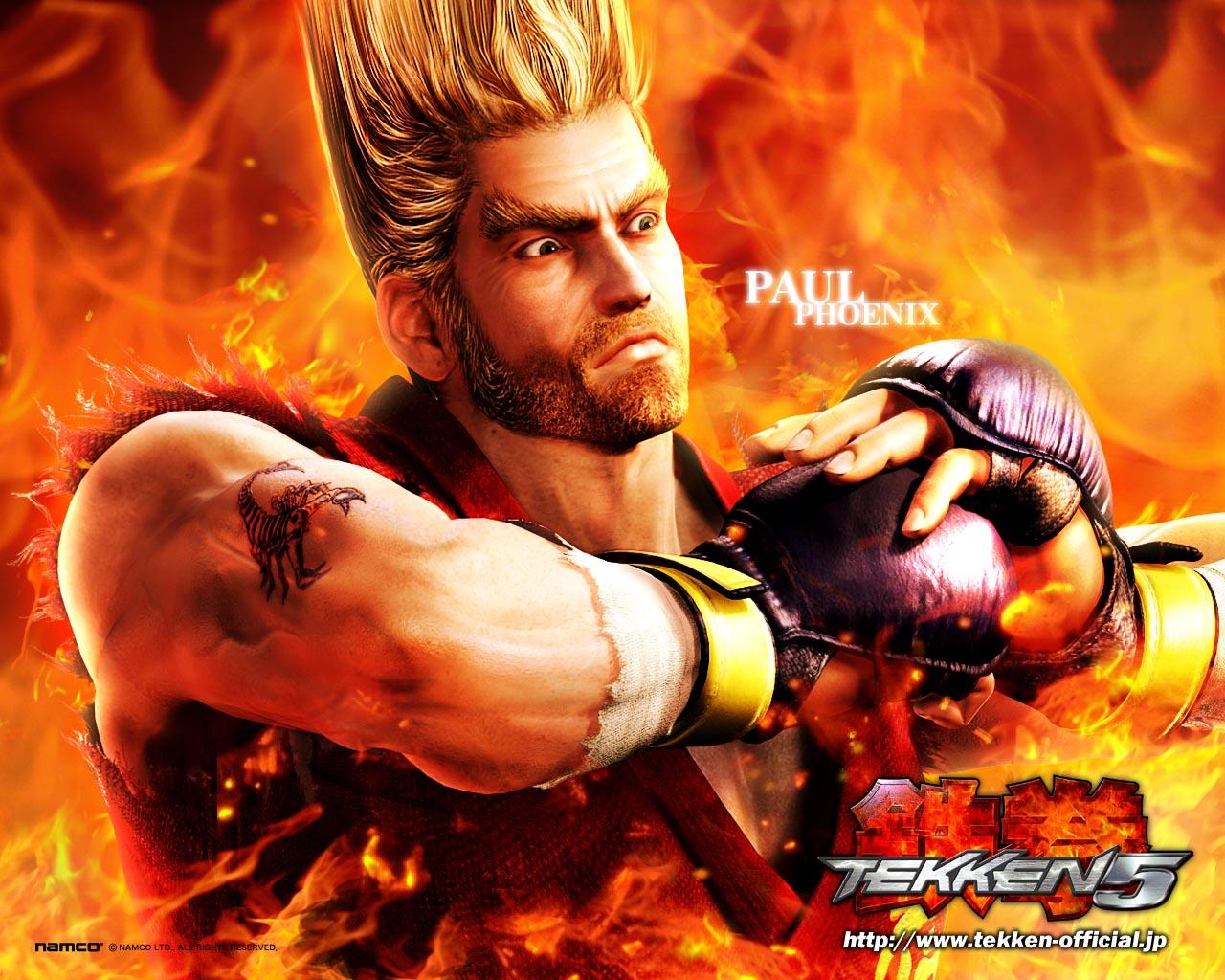 GAMEZONE Tekken 5 Characters