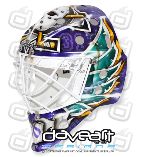 I Love Goalies!: Viktor Fasth 2013-14 Mask