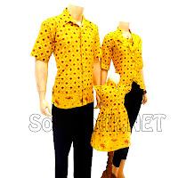 SK012 Sarimbit Batik Gamis/Muslim Pasangan Solo 2013