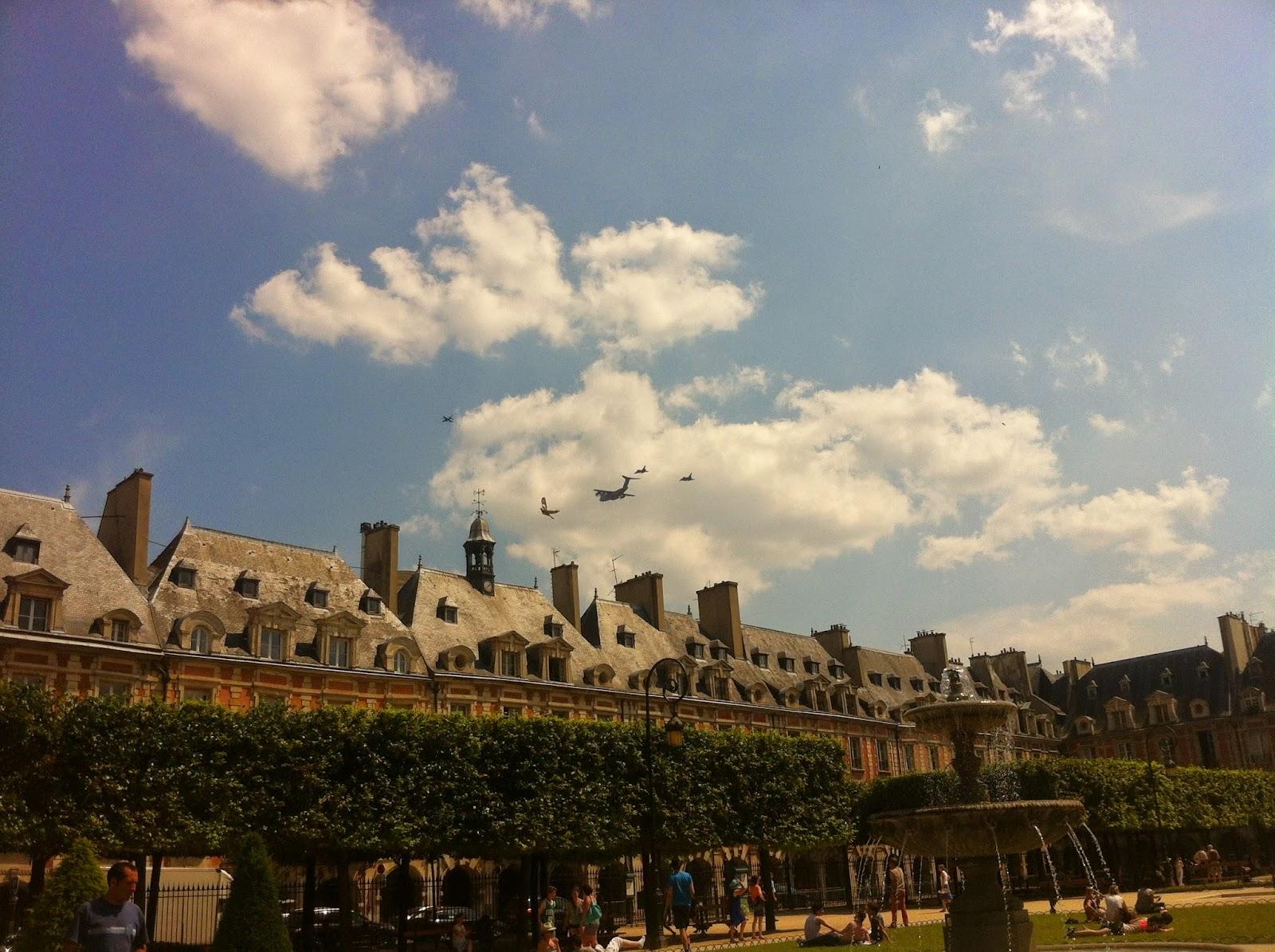 Place de Vosges Parkı