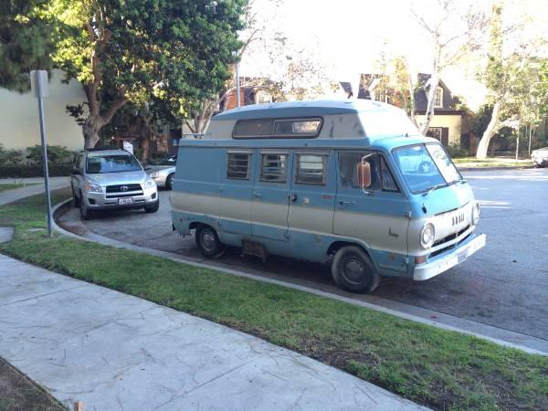 used rvs 1968 dodge a108 highroof camper van for sale by owner. Black Bedroom Furniture Sets. Home Design Ideas