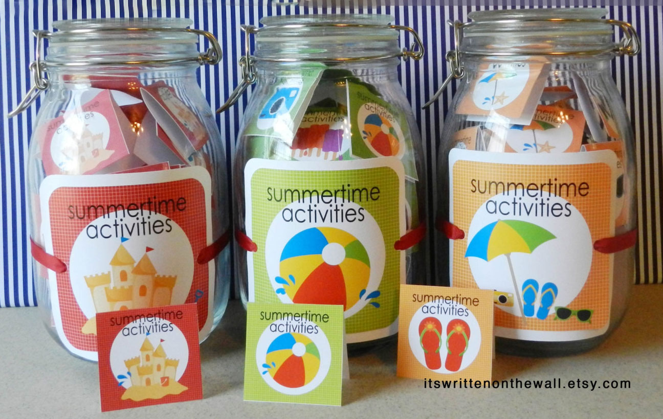 Organize your family and kid's summer activities