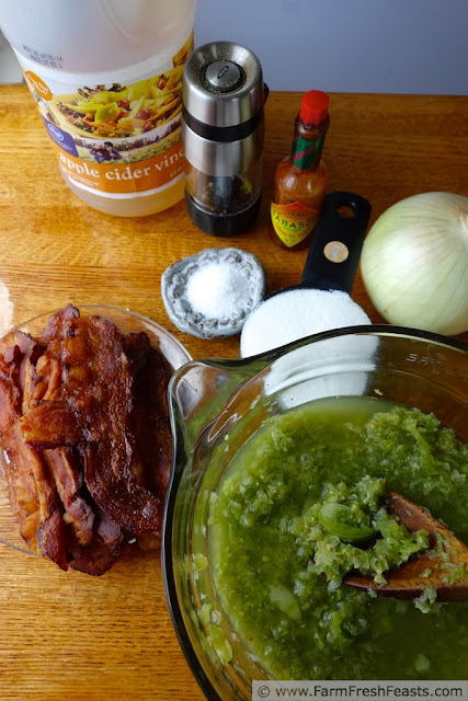 Green Tomato Bacon Jam | Farm Fresh Feasts