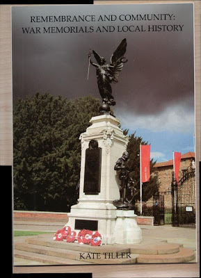 The cover of Kate Tiller's book about War Memorials