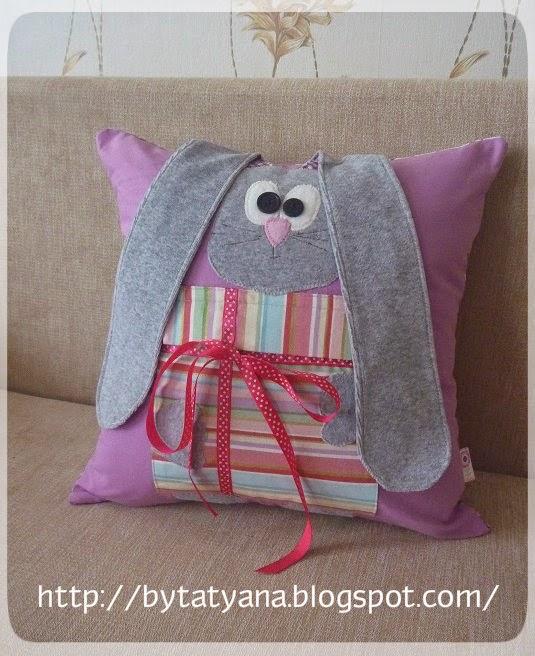подушки в детскую, декоративная наволочка