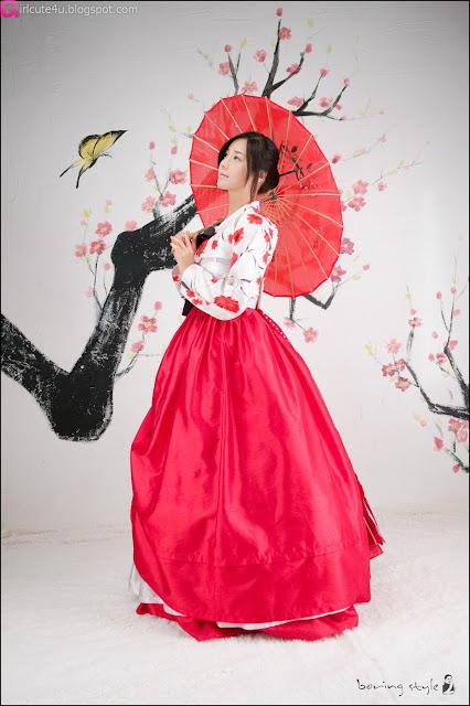 3 Kim Ha Yul in Hanbok-very cute asian girl-girlcute4u.blogspot.com