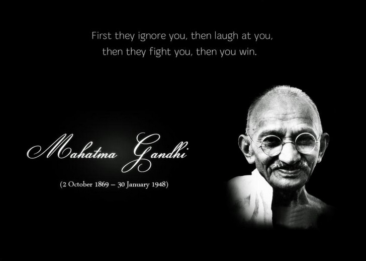 Gandhi Quotes On Peace Enchanting Happy New Year 48 Mahatma Gandhi Quotes Images Free Download