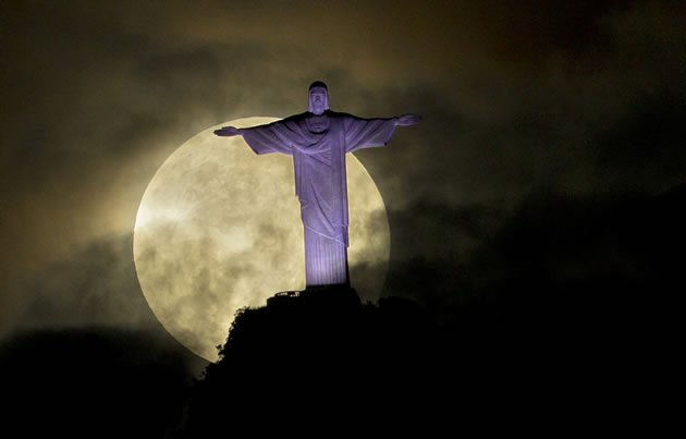 Superlua - Corcovado - Rio de Janeiro